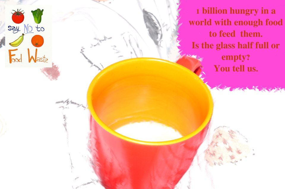 Cup Half Full Quotes: Cup Half Full Or Empty?