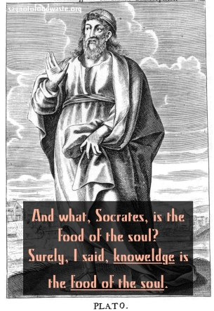 plato.knowledge.food.soul.foodquotes.life.saynotofoodwaste.love.give.share.care.