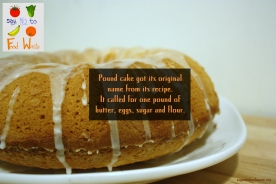 poundcake.fact.foodquotes.sustainable.saynotofoodwaste.foodfacts.share.care.give.love.