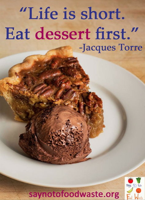 Dessert quote