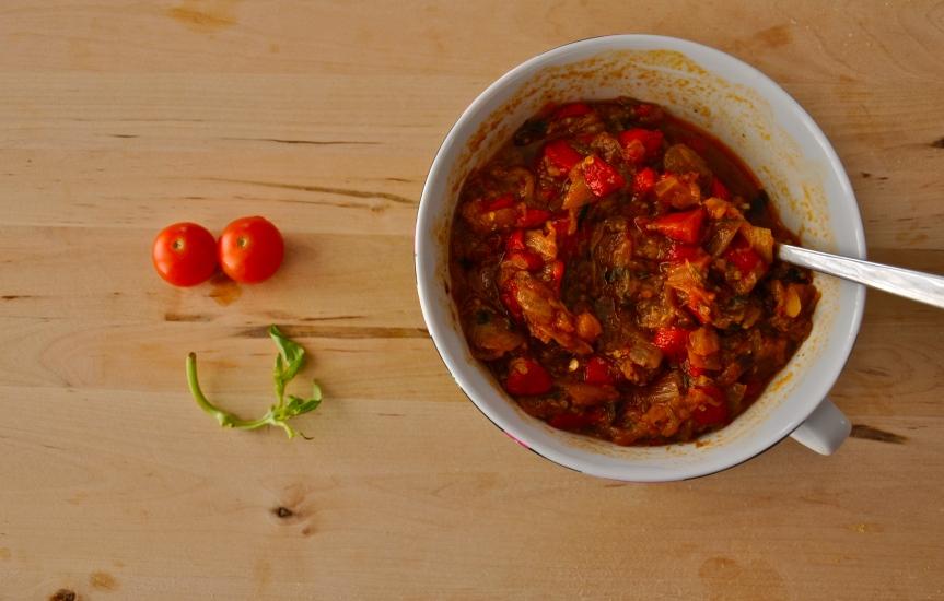 eggplant.caviar.vegetarian.azerbaijani.cuisine.food.delicious.organic.healthy.enjoy