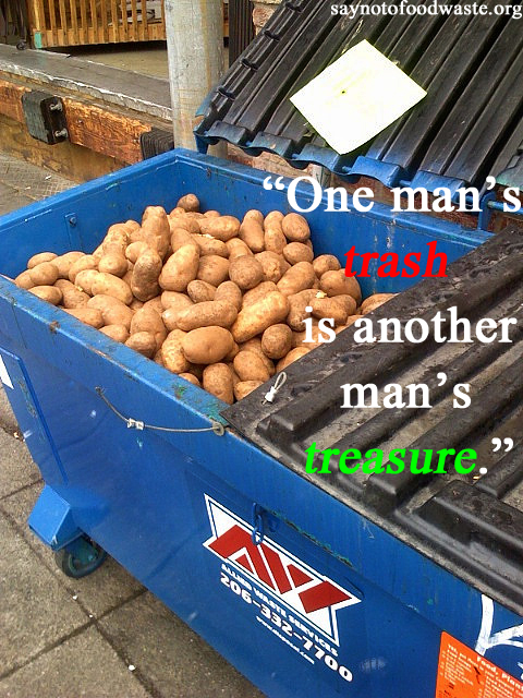 trash treasure.saynotofoodwaste.hatewaste.lovefood.dumpsterdiver.sustainable.give.care.share.love