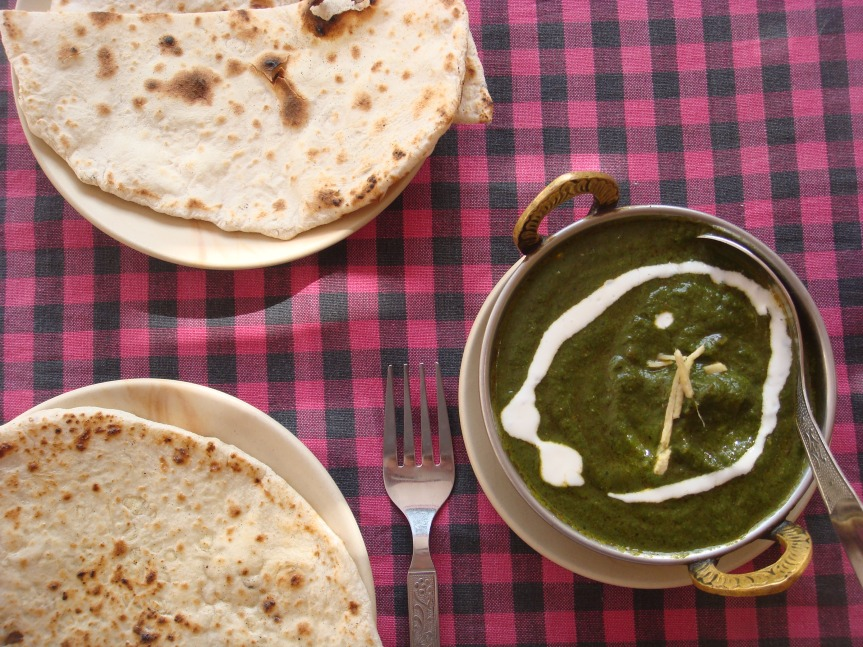 Mid week delicacy: DELICIOUS SAAG