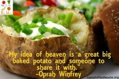 Baked Potato Oprah Quote