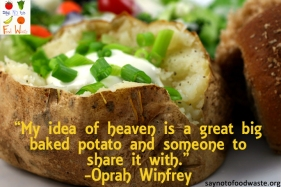 Baked Potato Oprah Quote