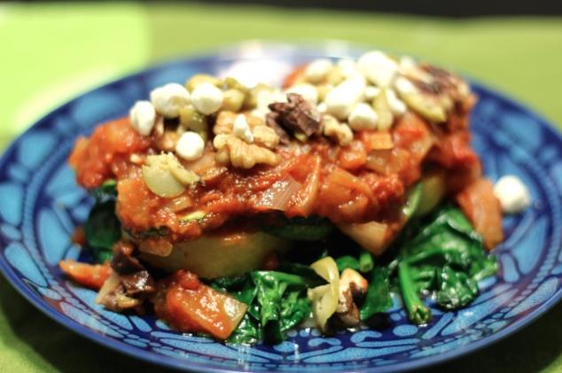 Mid week delicacy: Crispy PolentaCakes
