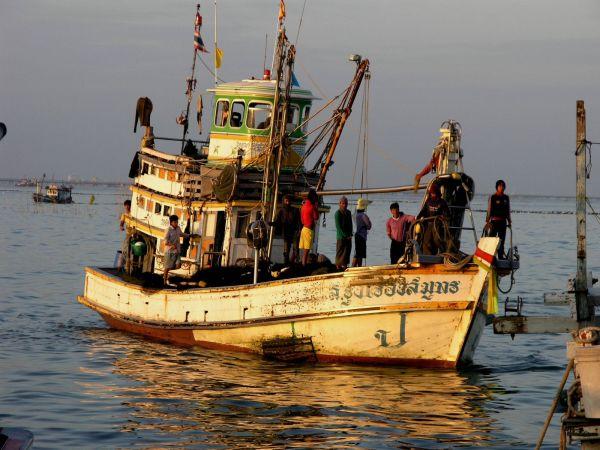 Thai fishing ship
