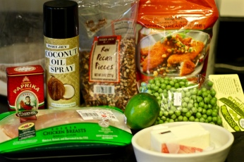 Baked Fried Chicken Ingredients