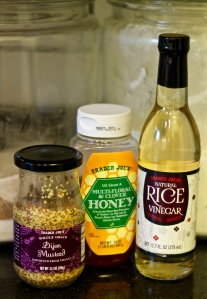 Honey Mustard Ingredients