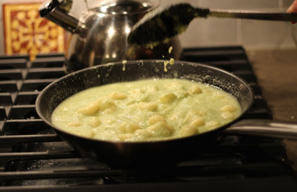 Fennel & Celery Root Gnocchi