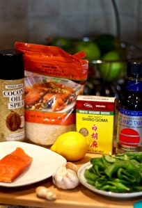 Ingredients Salmon Burger