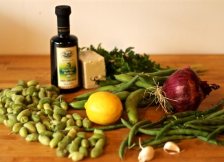 Three Bean Salad Ingredients