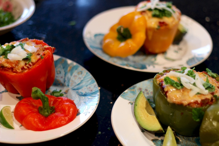 Midweek Delicacy Time: Stuffed Peppers