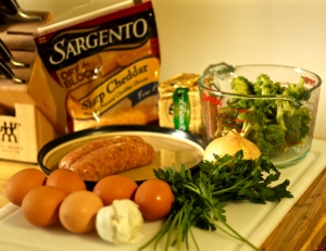 Omelet Ingrediets
