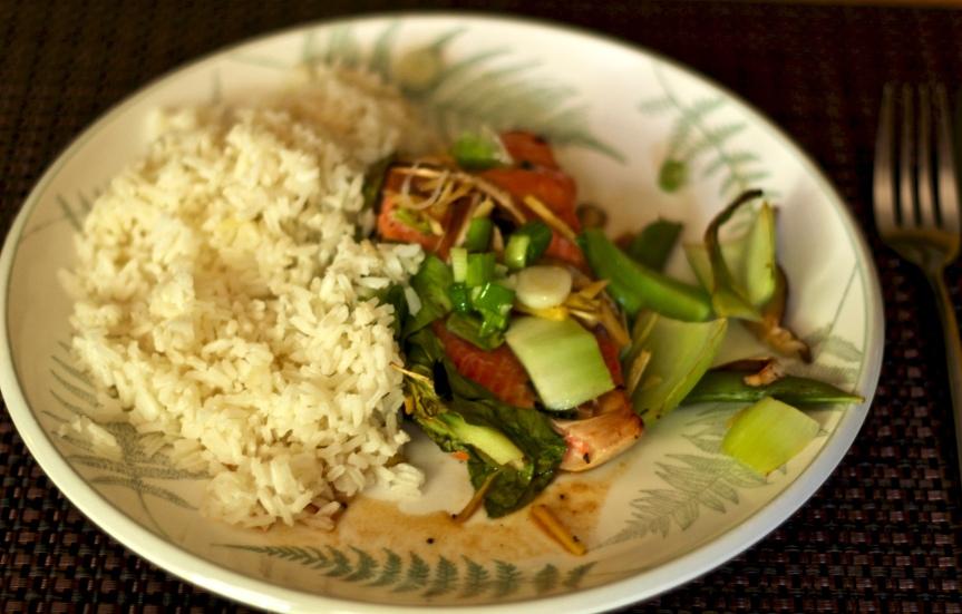 Midweek Delicacy Time: Miso Glazed Salmon enPapillote