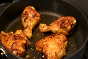 Middle Eastern Pan-Roasted Chicken