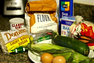 Zucchini Cornbread Ingredients