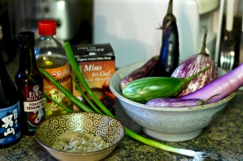 Nasu Dengaku Ingredients