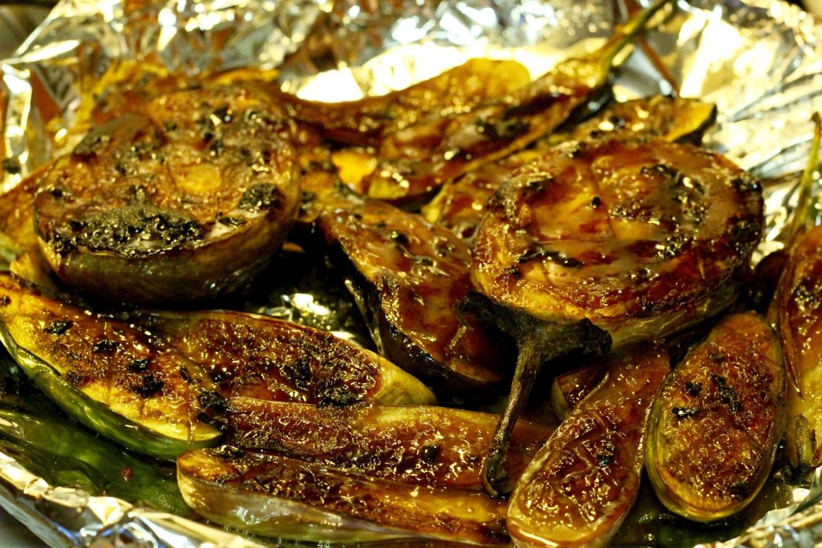 ... nasu dengaku miso glazed eggplant recipe yummly miso glazed eggplant