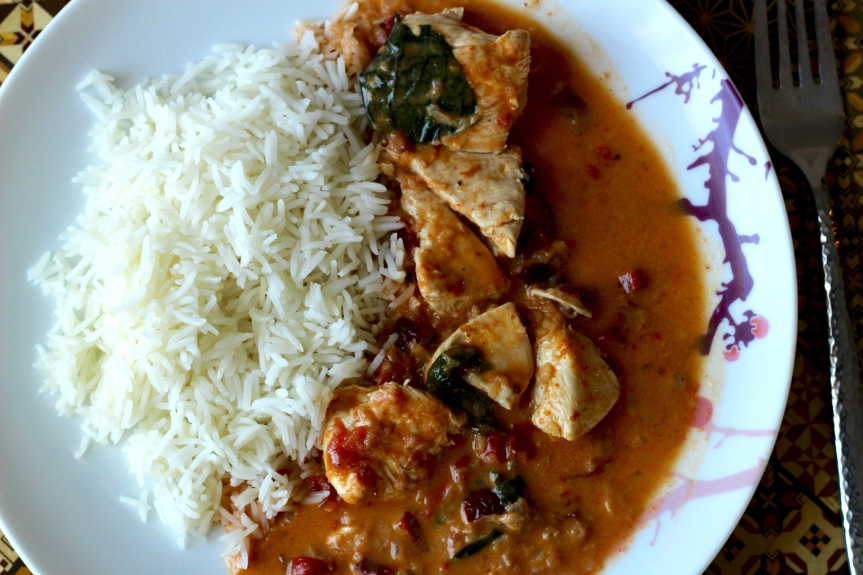 It's Midweek Delicacy Time: Chicken Coconut Curry
