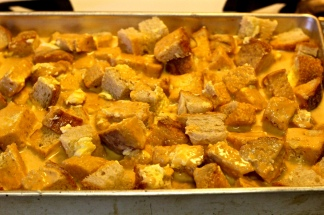 Pumpkin Bread & Butter Pudding