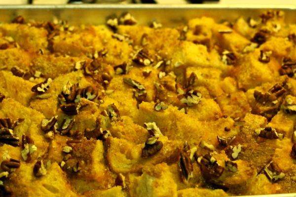 Pumpkin Bread & Butter Pudding