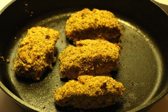 Pecan Crusted Oven-Fried Fish