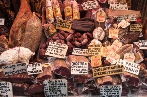 All types of cured meat
